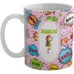 Woman Superhero Coffee Mug (Personalized)