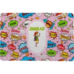 Woman Superhero Comfort Mat (Personalized)