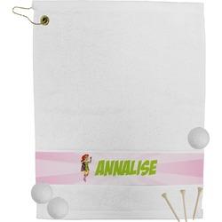 Woman Superhero Golf Towel (Personalized)