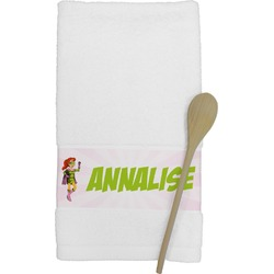 Woman Superhero Kitchen Towel (Personalized)