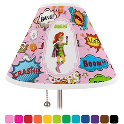 Woman Superhero Lamp Shade (Personalized)