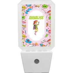 Woman Superhero Night Light (Personalized)