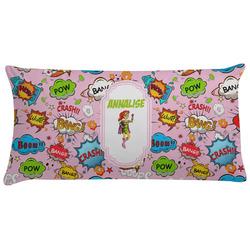Woman Superhero Pillow Case (Personalized)