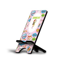 Woman Superhero Cell Phone Stands (Personalized)