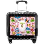Woman Superhero Pilot / Flight Suitcase (Personalized)