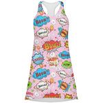 Woman Superhero Racerback Dress (Personalized)