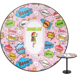 Woman Superhero Round Table (Personalized)