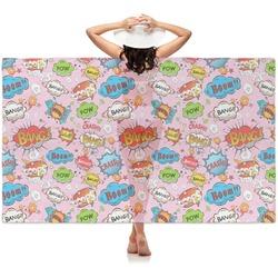 Woman Superhero Sheer Sarong (Personalized)