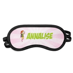 Woman Superhero Sleeping Eye Mask (Personalized)