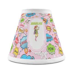 Woman Superhero Chandelier Lamp Shade (Personalized)