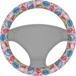 Woman Superhero Steering Wheel Cover (Personalized)