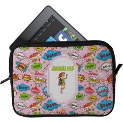 Woman Superhero Tablet Case / Sleeve - Small (Personalized)