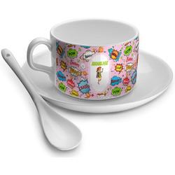 Woman Superhero Tea Cups (Personalized)