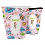 Woman Superhero Waste Basket (Personalized)