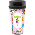 Woman Superhero Travel Mug (Personalized)