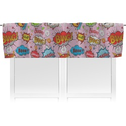 Woman Superhero Valance (Personalized)