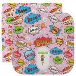 Woman Superhero Facecloth / Wash Cloth (Personalized)