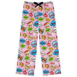 Woman Superhero Womens Pajama Pants (Personalized)