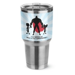 Super Dad Stainless Steel Tumbler - 30 oz