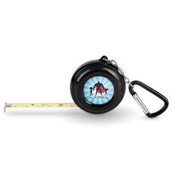 Super Dad Pocket Tape Measure - 6 Ft w/ Carabiner Clip