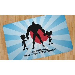 Super Dad Area Rug