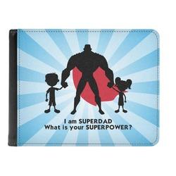 Super Dad Genuine Leather Men's Bi-fold Wallet