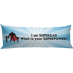 Super Dad Body Pillow Case
