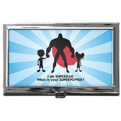Super Dad Business Card Holder
