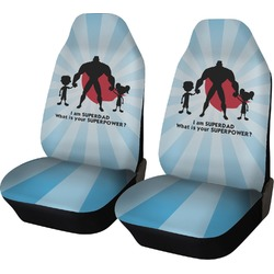 Super Dad Car Seat Covers (Set of Two)