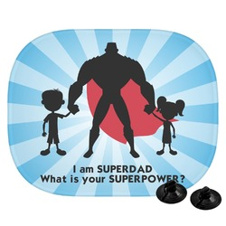 Super Dad Car Side Window Sun Shade