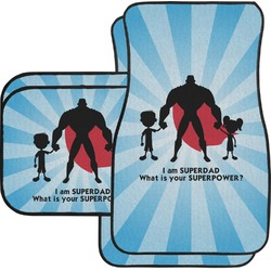 Super Dad Car Floor Mats