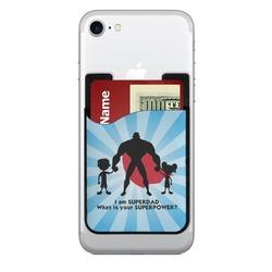 Super Dad Cell Phone Credit Card Holder