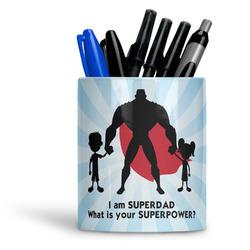 Super Dad Ceramic Pen Holder