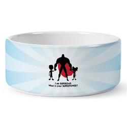 Super Dad Ceramic Pet Bowl