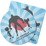 Super Dad Rubber Backed Coaster