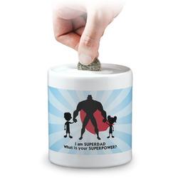 Super Dad Coin Bank