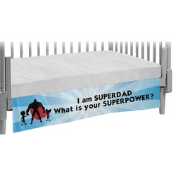 Super Dad Crib Skirt
