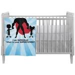 Super Dad Crib Comforter / Quilt