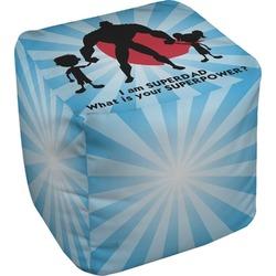 Super Dad Cube Pouf Ottoman