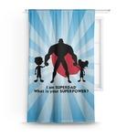 Super Dad Curtain