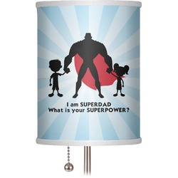 "Super Dad 7"" Drum Lamp Shade"
