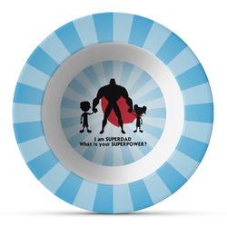 Super Dad Plastic Bowl - Microwave Safe - Composite Polymer
