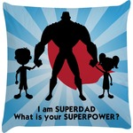 Super Dad Decorative Pillow Case