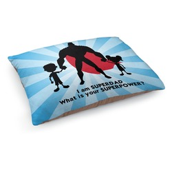 Super Dad Dog Pillow Bed
