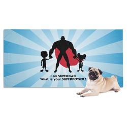 Super Dad Dog Towel