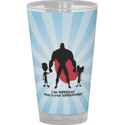 Super Dad Drinking / Pint Glass