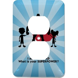Super Dad Electric Outlet Plate