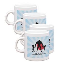 Super Dad Espresso Mugs - Set of 4