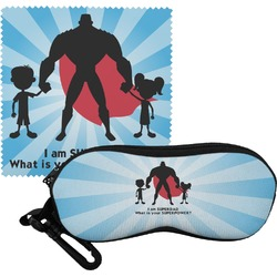 Super Dad Eyeglass Case & Cloth