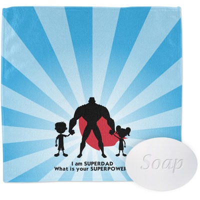 Super Dad Washcloth